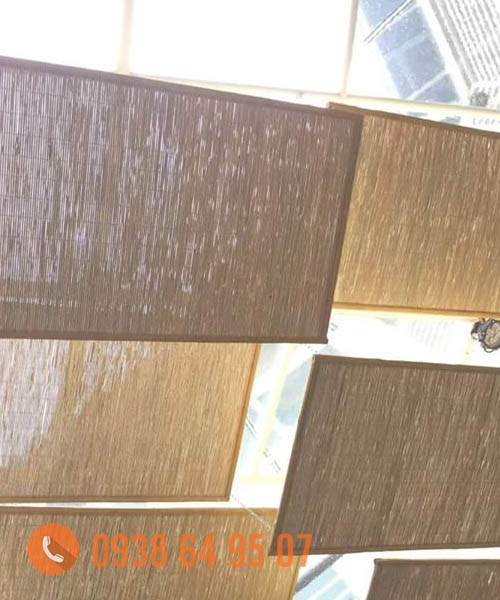 Tấm tre trúc ốp trần tre trúc trong nhà