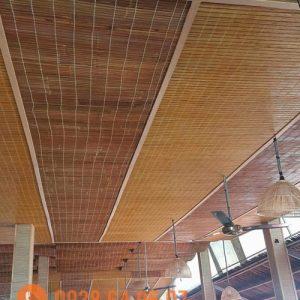 Tư vấn, thiết kế ốp trần tre trúc tại TP. Hồ Chí Minh