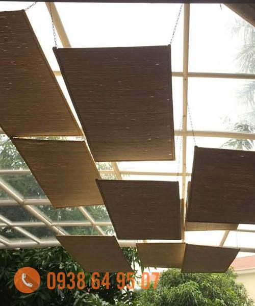 Thi công Ốp trần tre trúc 1