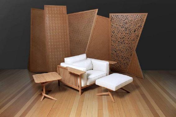 Vô số những mẫu bàn ghế độc đáo được làm từ tre. Mỗi mẫu có một nét đẹp riêng phù hợp với từng không gian sống.