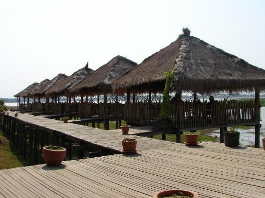 Thiết kế quán ăn, quán cà phê từ mái lá
