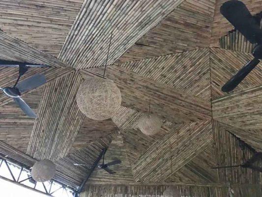 Thiết kế thi công trang trí nhà tre, trần nhà bằng tre TPHCM