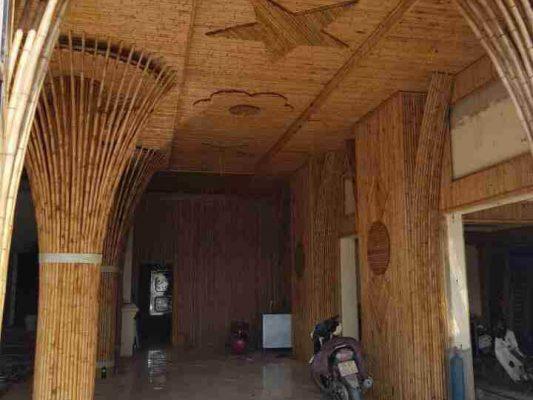 Một số mẫu nhà tre, kiến trúc nứa đẹp
