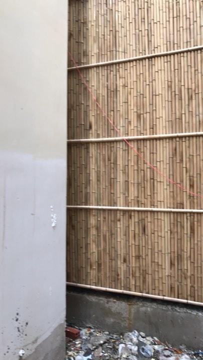 Hình ảnh ốp vách tre trúc tại công trình nhà ở quận 5