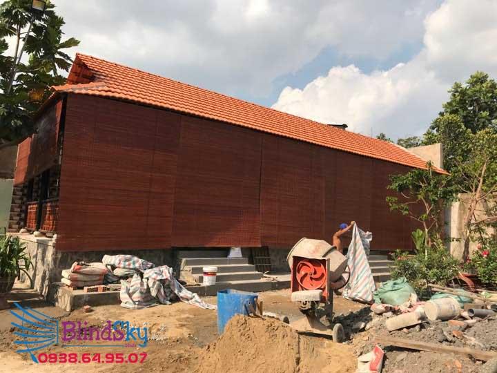 Công trình mành tre trúc nhà gỗ